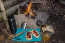 Sladký bannock s marmeládou