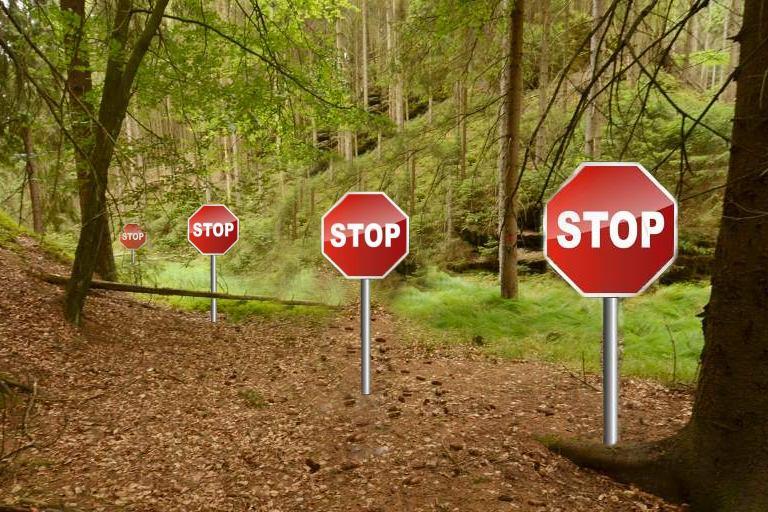 Zastavte znovu, pokud je třeba!